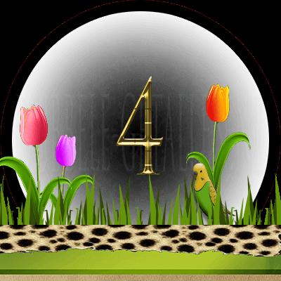 dieren numerologie, nummer 4