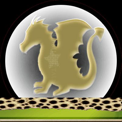 Draken en hun betekenis, Dubbele-getallen, gouden draak