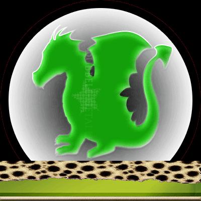 Draken en hun betekenis, Dubbele-getallen, groene draak