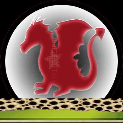Draken en hun betekenis, Dubbele-getallen, rode draak
