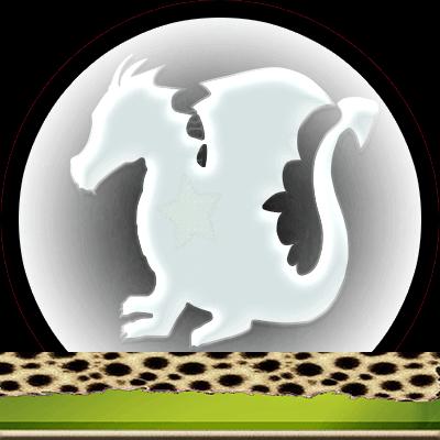 Draken en hun betekenis, Dubbele-getallen, witte draak