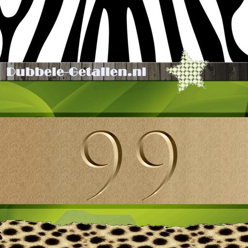 Nummer 99, Dubbele-Getallen