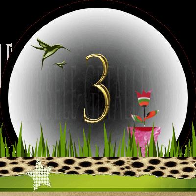 Huisnummer 3, Dubbele-getallen