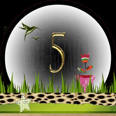 Huisnummer 5, Dubbele-getallen