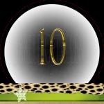 Nummer 10 dubbele-getallen