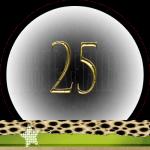 Nummer 25 dubbele-getallen