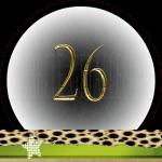 Nummer 26 dubbele-getallen