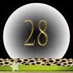 Nummer 28 dubbele-getallen