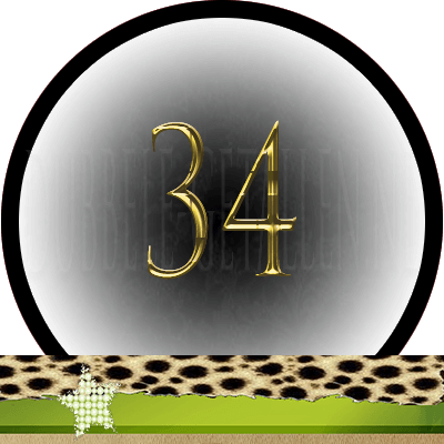 Nummer 34 dubbele-getallen