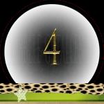 Nummer 4 dubbele-getallen