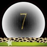 Nummer 7 dubbele-getallen