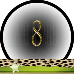 Nummer 8 dubbele-getallen