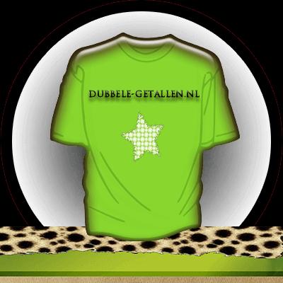 T-shirt, Dubbele-Getallen