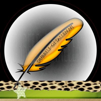 Veren en hun betekenis, oranje veren, Dubbele-Getallen