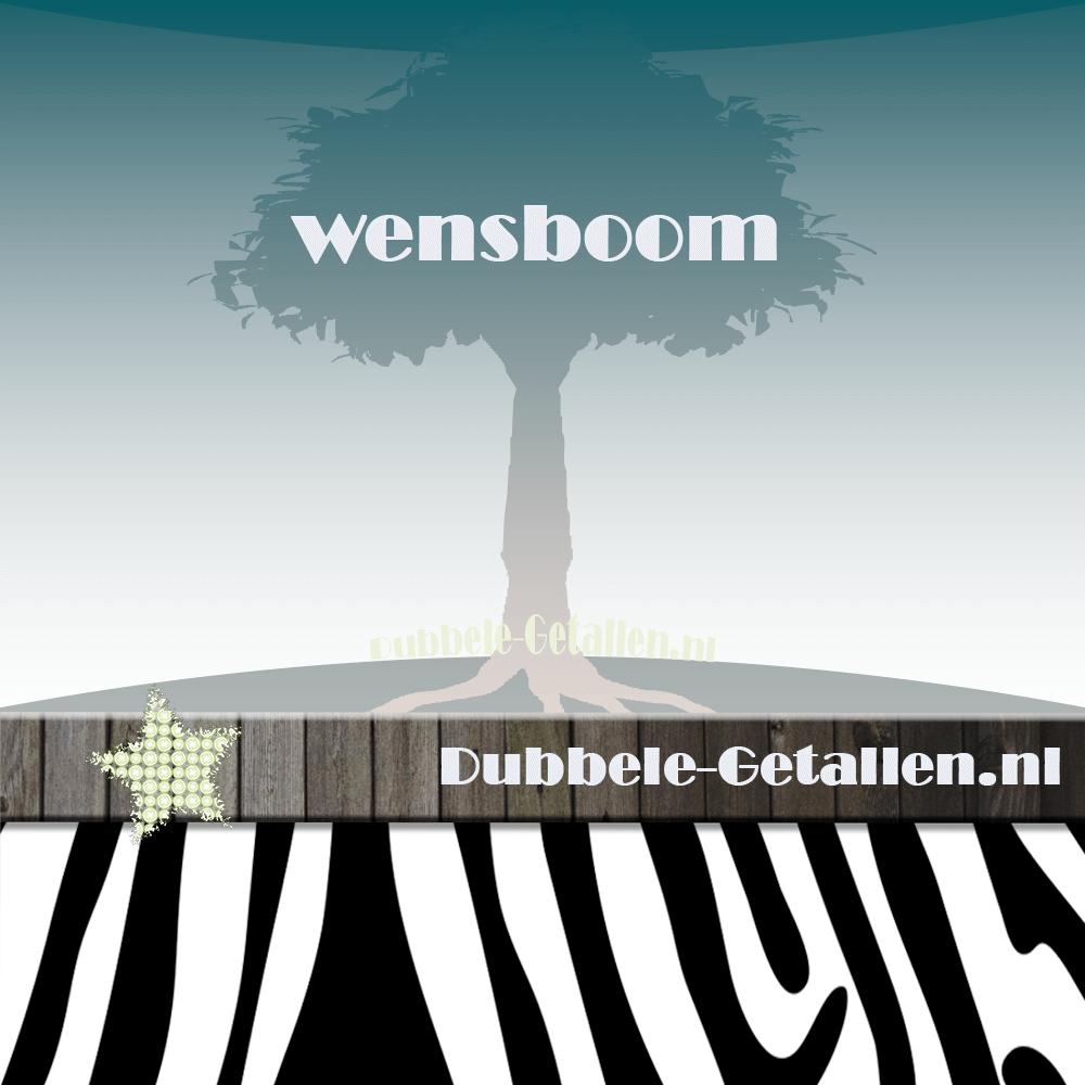 wensboom - dubbele-getallen